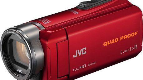 Digitální kamera JVC GZ R435R - poškozený obal