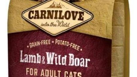 Granule Brit Carnilove Cat Lamb & Wild Boar Adult Sterilised 6 kg + Doprava zdarma