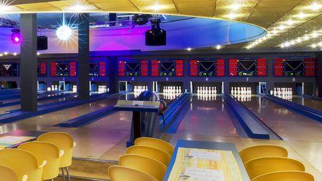 Hodinová hra bowlingu a 30% sleva na konzumaci