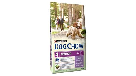 Granule Purina Dog Chow Senior jehněčí a rýže 14 kg + Doprava zdarma