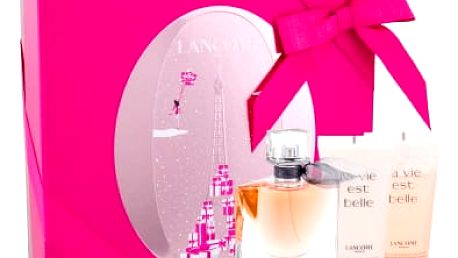 Lancome La Vie Est Belle dárková kazeta pro ženy parfémovaná voda 50 ml + tělové mléko 50 ml + sprchový gel 50 ml