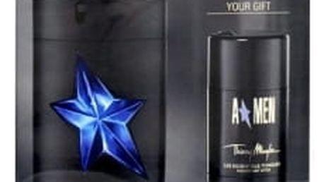 Thierry Mugler A*Men Rubber dárková kazeta pro muže toaletní voda 100 ml rubber + deostick 75 ml