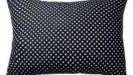 XPOSE ® Povlak na polštář MARKÉTA - černá 70x90 cm