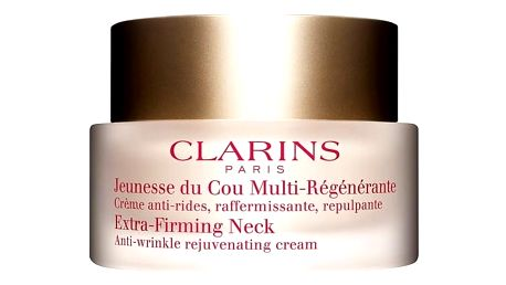 Clarins Extra Firming Neck Cream - Zpevňující krém na krk a dekolt 50 ml