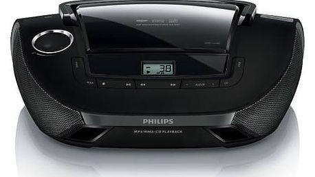 Radiopřijímač s CD Philips AZ1837 černý