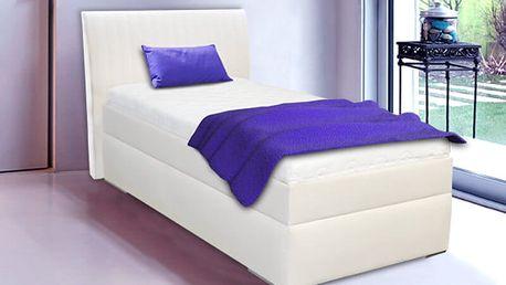 Jednolůžková postel s úložným prostorem LIANA 90 x 200 cm vč. roštu