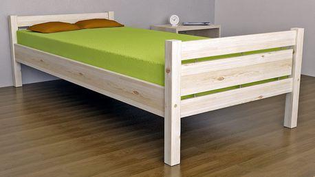 Masivní smrková postel COLORADO 160x200 cm