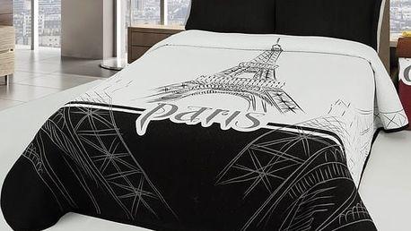 Forbyt Přehoz na postel Eiffel, 140 x 220 cm