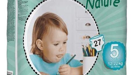 BAMBO Nature Junior (12-22kg) 27ks - jednorázové pleny