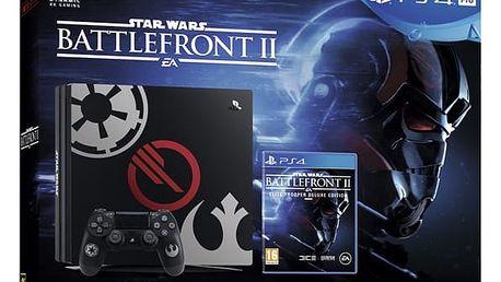 Herní konzole Sony PRO 1TB Specialní edice StarWars Battlefront II (PS719973164) + DOPRAVA ZDARMA