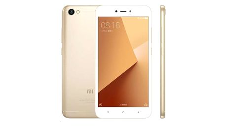 Mobilní telefon Xiaomi Redmi Note 5A CZ LTE Dual SIM (PH3621) zlatý + Doprava zdarma