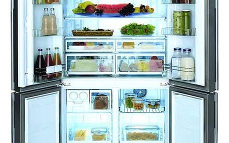 Kombinace chladničky s mrazničkou Beko GNE 114612 FX nerez + Doprava zdarma