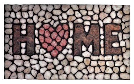 Rohožka Home Stone, 46x76 cm VOPI Ecomat MP 799