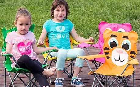 Skládací Židle pro Děti Zvířátka