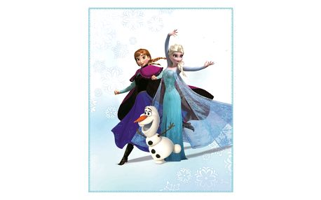 CTI Fleece dečka Frozen Enjoy 110x140