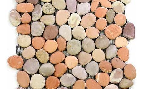 Divero Garth 1099 Mozaika říční oblázky - 1 m2 - 30x30 cm