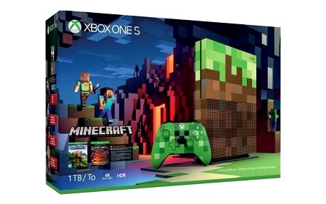 Herní konzole Microsoft 1 TB Limitovaná edice Minecraft (23C-00011) + DOPRAVA ZDARMA