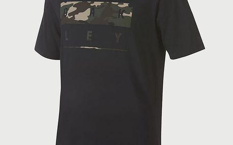 Tričko Oakley 50-Oakley Stack Camo Blackout Černá