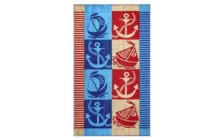 JAHU Plážová osuška Colored Stripe, 90 x 180 cm
