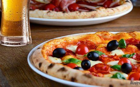 Nadlábněte se po italsku: 2 nebo 4 pizzy