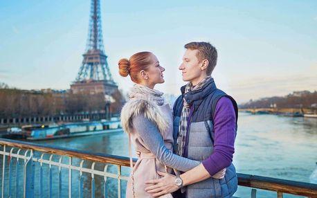 Valentýnský zájezd do Paříže s ubytováním i sektem