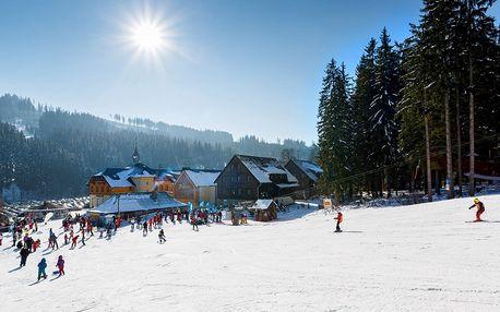 Beskydy na 3 dny: lyžování, polopenze i wellness