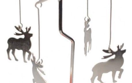 Vánoční kolotoč na svíčku
