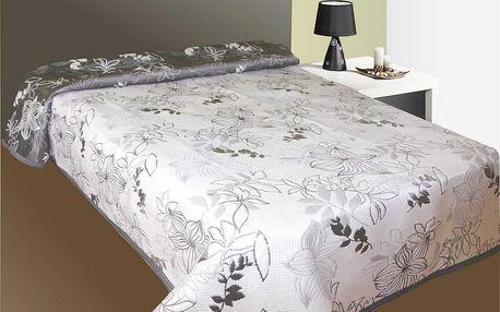 Forbyt Prehoz na posteľ Lisbon šedý