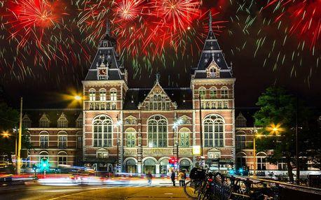 Festival světel a Silvestr v Amsterdamu