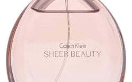 Calvin Klein Sheer Beauty - toaletní voda s rozprašovačem 100 ml