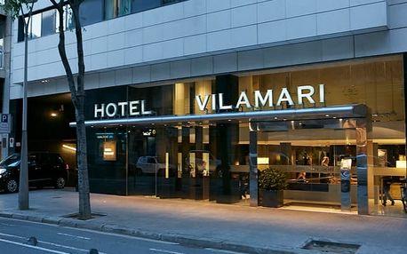 Hotel Vilamarí****, Designový hotel v barcelonské čtvrti Eixample 350 metrů od stanice metra se snídaní