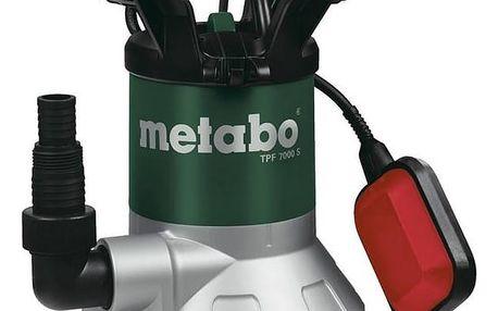 Čerpadlo kalové Metabo TPF 7000 S černé/modré + Doprava zdarma