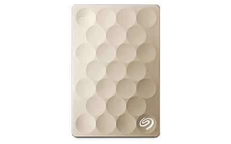 Seagate Backup Plus Ultra Slim 1TB, zlatá  STEH1000201