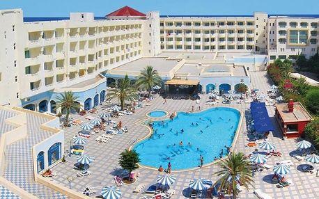 Tunisko, Yasmine Hammamet, letecky na 8 dní