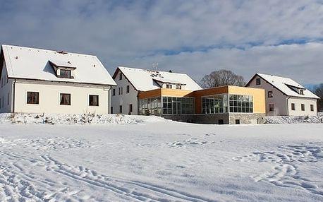 Zimní wellness pobyt v 4*Hotelu Orsino na břehu Lipna pro 2 osoby na 2-4 dny.