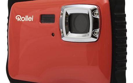Digitální fotoaparát Rollei Sportsline 65 černý/červený