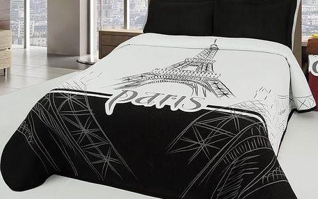 Forbyt Přehoz na postel Eiffel, 140 x 220 cm, 140 x 220 cm