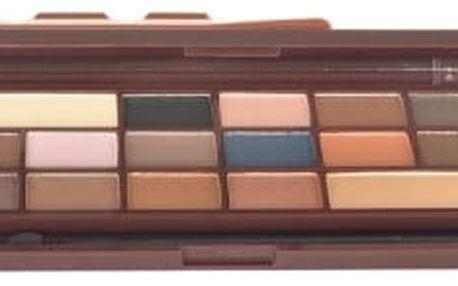 Makeup Revolution London I Heart Makeup I Heart Chocolate Caramel Palette 22 g oční stín pro ženy