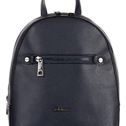 Koženkový batůžek modrá