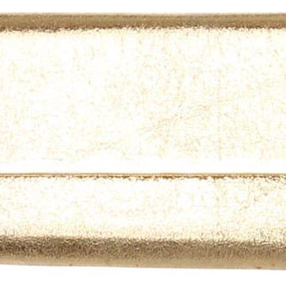 Třpytivá kabelka na ples zlatá