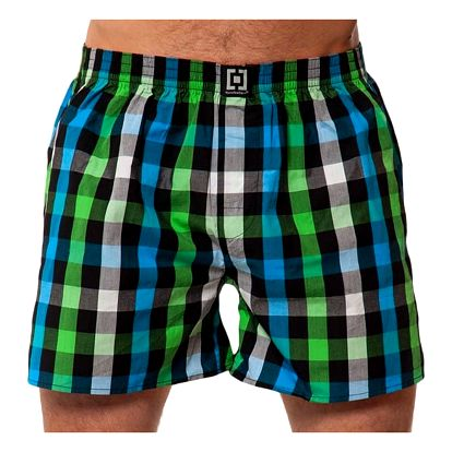 Pánské Trenky Horsefeathers Sin Boxer Shorts Green L