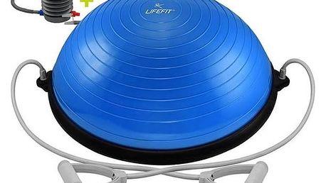 Balanční podložka LIFEFIT BALANCE BALL 58cm + pumpa modrá