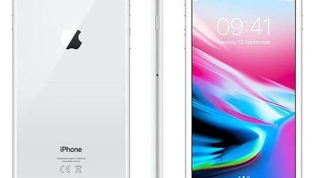 Mobilní telefon Apple iPhone 8 Plus 64 GB - Silver (MQ8M2CN/A) + Doprava zdarma