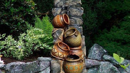 Garthen 144 Zahradní kašna - fontána se čtyřmi džbánky