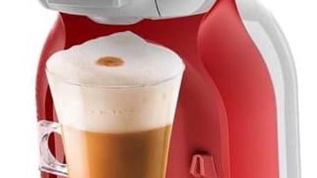 Espresso Krups NESCAFÉ® Dolce Gusto™ Mini Me KP1205CS šedé/červené + Doprava zdarma