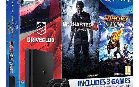 Herní konzole Sony SLIM 1TB Family pack (PS719805465 ) černá + DOPRAVA ZDARMA