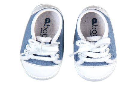 BOBOLI Capáčky - džínové tenisky, vel. 9M/19 - modrá, kluk