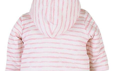 BOBOLI Oboustranný kabátek, vel. 68 cm - růžová, holka