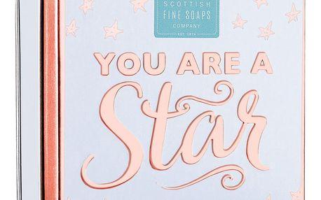 SCOTTISH FINE SOAPS Mýdlo v plechové krabičce You are, bílá barva, kov
