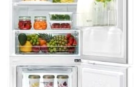 Kombinace chladničky s mrazničkou LG GBB59SWRZS bílá + Doprava zdarma